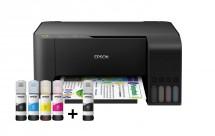 Multifunkční inkoustová tiskárna Epson L3110, tank
