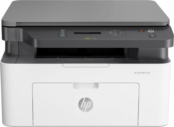 Multifunkční laserová tiskárna HP Laser MFP 135w, 4ZB83A