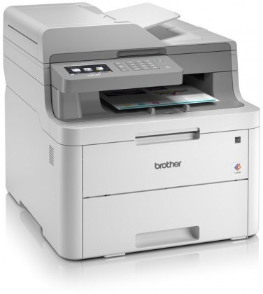 Multifunkční tiskárna Brother DCP-L3550CDW,A4,18str/18str,ADF,kopírka,skener,duplex