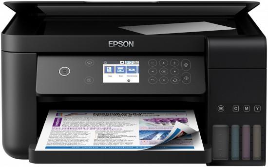Multifunkční tiskárna Multifunkční inkoustová tiskárna Epson EcoTank ITS L6160 barevná