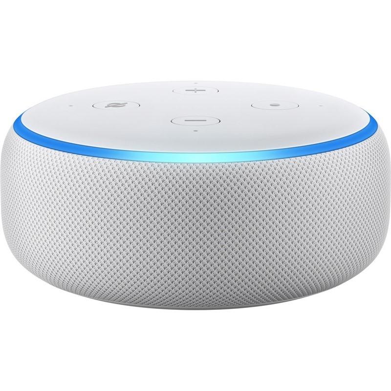 Multimediální centrum Hlasový asistent Amazon Echo Dot Sandstone (bílý) (3.generace)