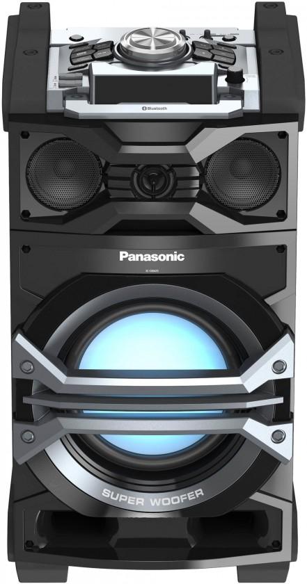 Multimediální reproduktor Panasonic SC-CMAX5E, šedá ROZBALENO