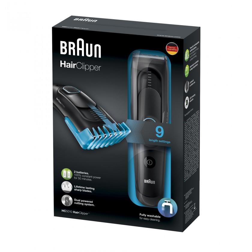 Na vlasy Zastřihovač vlasů Braun HC 5010
