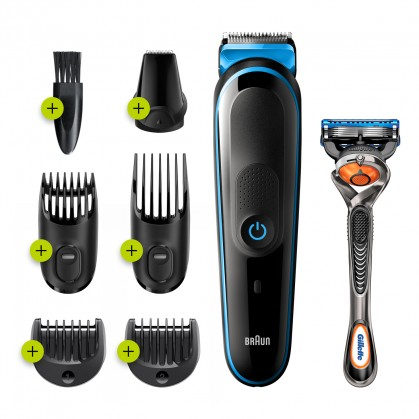 Na vlasy Zastřihovač vlasů Braun MGK 5245
