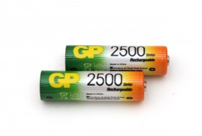 Nabíjecí baterie GP AA 2700 NiMH 2ks (GP270AAHC)