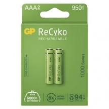 Nabíjecí baterie GP B2111 ReCyko, 1000mAh, AAA, 2ks