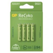 Nabíjecí baterie GP B21114 ReCyko, 1000mAh, AAA, 4ks