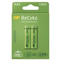 Nabíjecí baterie GP B2123 ReCyko, 1300mAh, AA, 2ks
