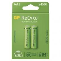 Nabíjecí baterie GP B2125 ReCyko, 2500mAh, AA, 2ks