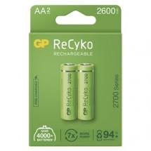 Nabíjecí baterie GP B2127 ReCyko, 2700mAh, AA, 2ks