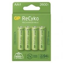 Nabíjecí baterie GP B21274 ReCyko, 2700mAh, AA, 4ks