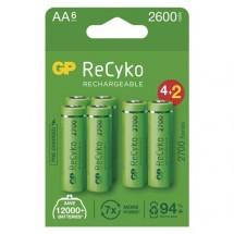 Nabíjecí baterie GP B2127V ReCyko, 2700mAh, AA, 6ks