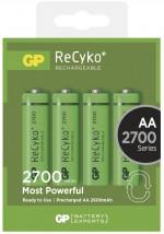 Nabíjecí baterie GP NiMH, AA, 2700mAh, 4 ks