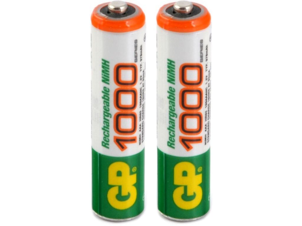 Nabíjecí baterie, nabíječky Baterie GP Professional, AAA, 1000mAh, 2ks