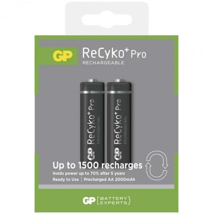 Nabíjecí baterie, nabíječky Baterie GP Recyko+ 2050mAh AA 2ks