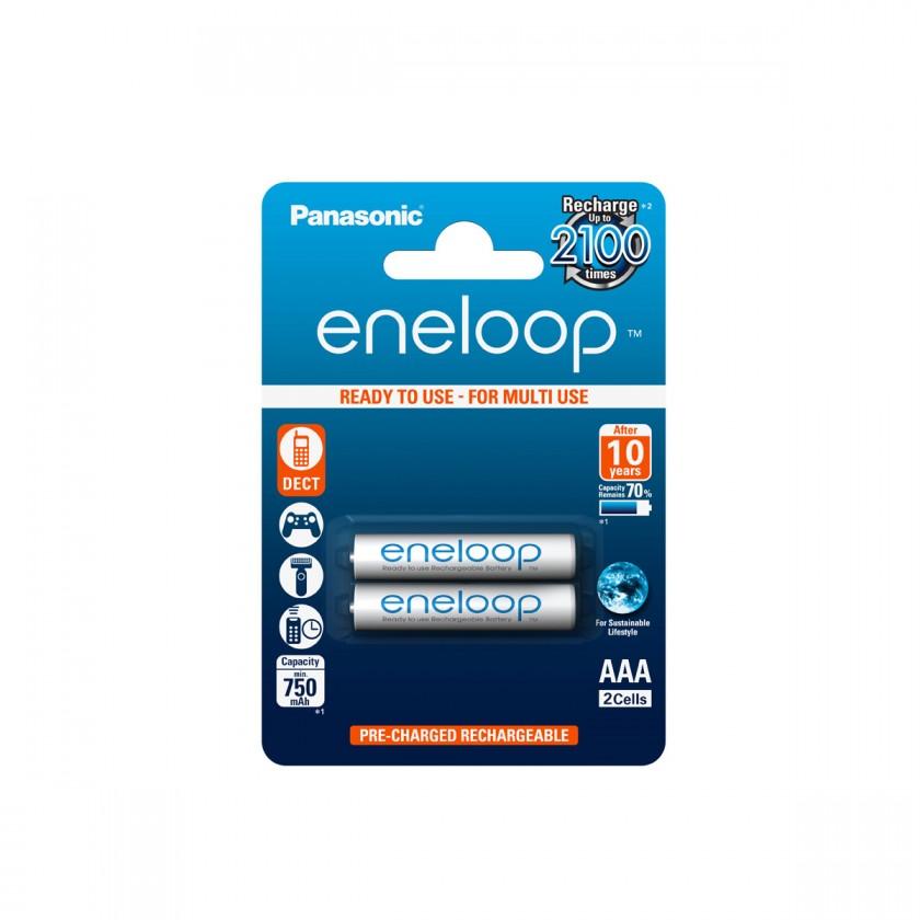 Nabíjecí baterie, nabíječky Baterie Panasonic Eneloop AAA 2ks 4MCCE/2BE