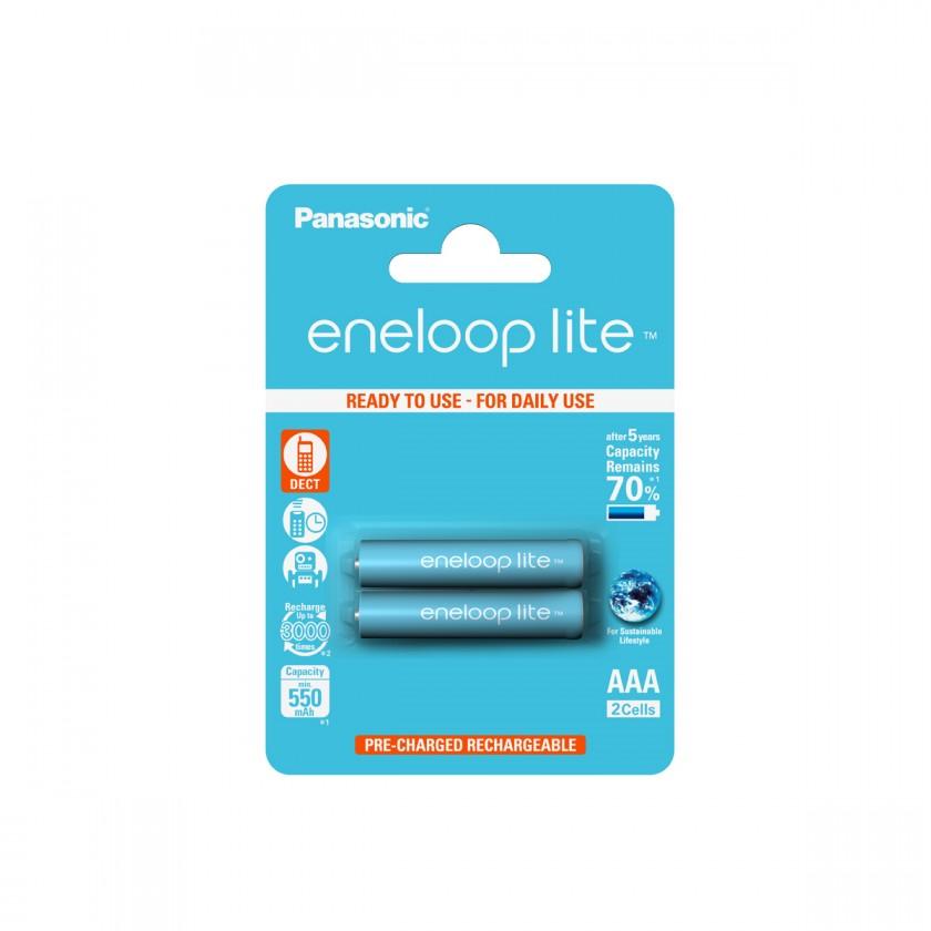 Nabíjecí baterie, nabíječky Baterie Panasonic Eneloop Lite AAA 2ks 4LCCE/2BE