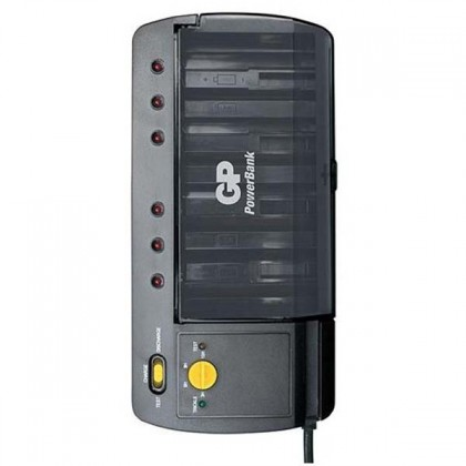 Nabíjecí baterie, nabíječky GP nabíjačka batérií GP PB S320 ROZBALENO