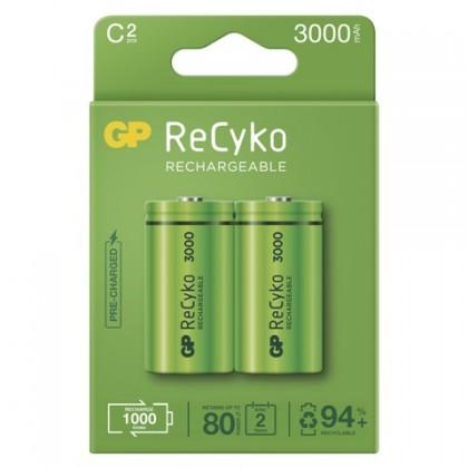 Nabíjecí baterie, nabíječky Nabíjecí baterie GP B2133 ReCyko, 3000mAh, C, 2ks