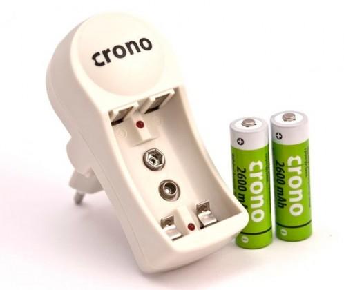 Nabíjecí baterie, nabíječky Nabíječka+baterie AA 2600 mAh