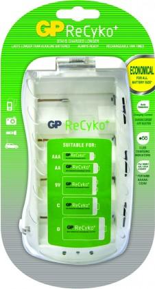 Nabíjecí baterie, nabíječky Nabíječka baterií GP B0019, 4xAA/AAA/C/D