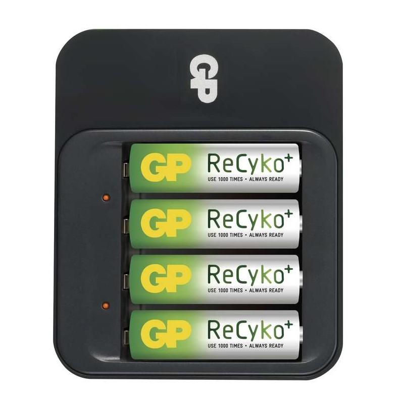 Nabíjecí baterie, nabíječky Nabíječka baterií GP PB550 + 4x AA ReCyko 2100