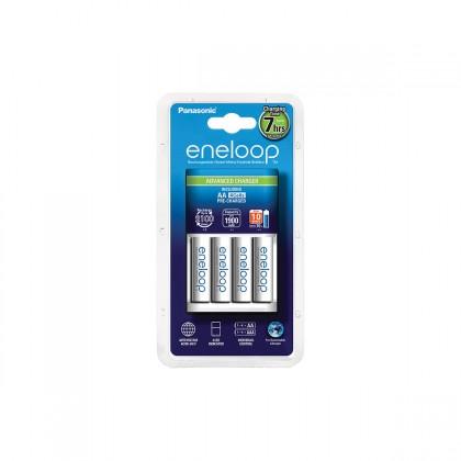 Nabíjecí baterie, nabíječky Nabíječka baterií Panasonic Eneloop KJ17MCC40E 4x AA