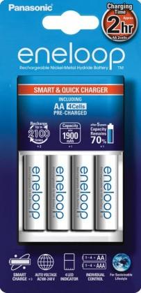 Nabíjecí baterie, nabíječky Panasonic Eneloop nabíječka KJ16MCC40E 4x AA