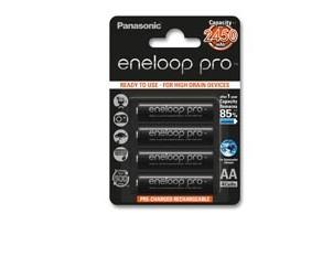 Nabíjecí baterie, nabíječky Panasonic Eneloop Pro R6/AA 2500mAh, 4 ks, Blister
