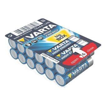 Nabíjecí baterie, nabíječky Varta High Energy 12 ks, AA