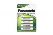 Nabíjecí baterie Panasonic, AA, přednabité, 1900mAh, NiMh, 4ks