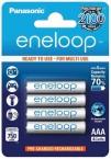 Nabíjecí baterie Panasonic Eneloop R03/AAA 750mAh, 4 ks