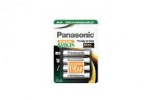 Nabíjecí baterie Panasonic NiMh, přednabité, AA, 2450mAh, 4ks