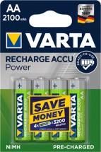 Nabíjecí baterie Varta, AA, 2100mAh, 4ks
