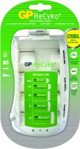Nabíječka baterií GP B0019, 4xAA/AAA/C/D