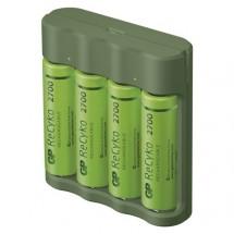 Nabíječka baterií GP B52427U Everyday B421 + 4xAA ReCyko + USB