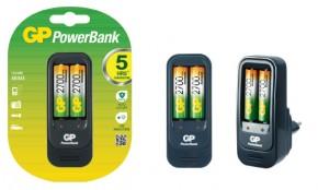 Nabíječka baterií GP Power Bank 560 + 2x AA 2700mAh