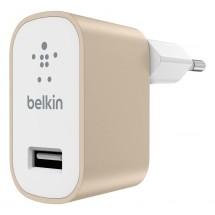 Nabíječka Belkin 1xUSB 2,4A, zlatá
