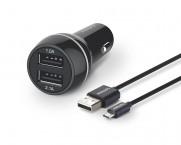 Nabíječka do auta se dvěma USB porty