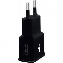Nabíječka WG 1xUSB 2A, 15W Fast Charge 3.0, černá