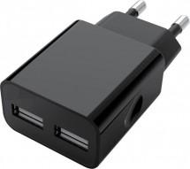 Nabíječka WG 2xUSB 2,4A + kabel Lightning MFI, černá