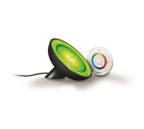 Nábytek Aloha - Lampička LED, 12,6cm (černá)