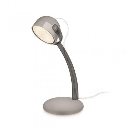 Nábytek Aloha - Lampička LED, 13cm (šedá)