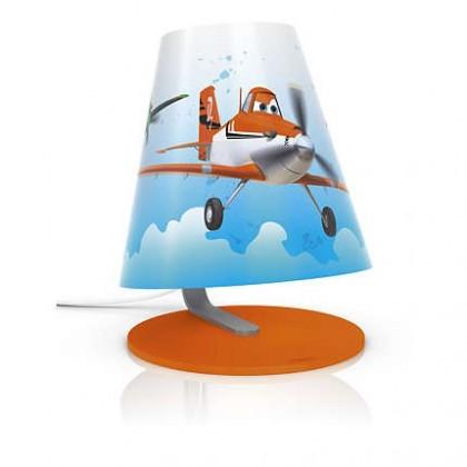 Nábytek Aloha - Lampička LED, 18,7cm (oranžová)