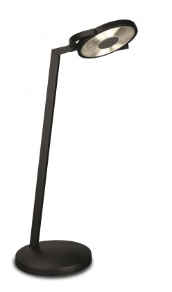 Nábytek Aloha - Lampička LED, 19,1cm (černá)