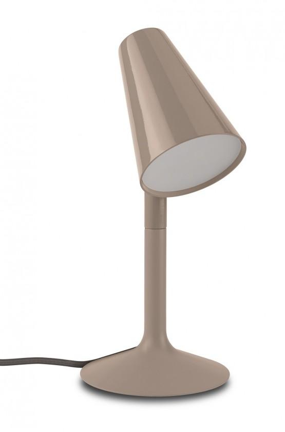 Nábytek Aloha - Lampička LED, 20cm (krémová)