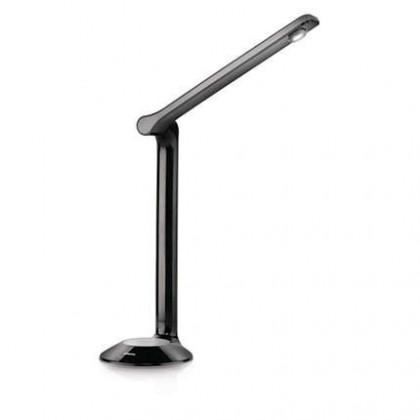 Nábytek Aloha - Lampička LED, 41cm (černá)