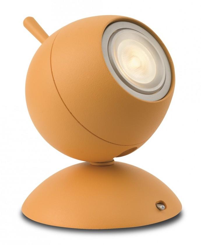 Nábytek Aloha - Lampička LED, 9,4cm (oranžová)