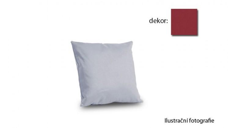 Nábytek Amora - polštář 40x40cm (hero-bordeaux)