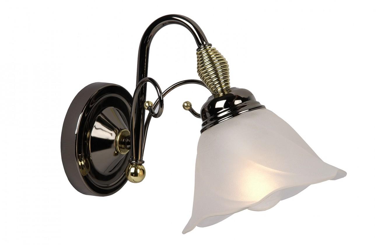 Nábytek Arabba - nástěnné osvětlení, 40W, E14 (černá)